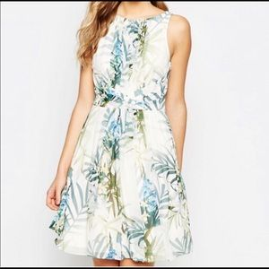 Ted Baker Twilight Pleated Floral Dress